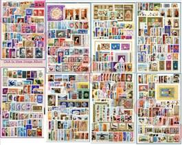 دوره (بلوکی) تمبر های پهلوی - 44 تا 57 (توضیح دارد) اسکناس و تمبر ایران